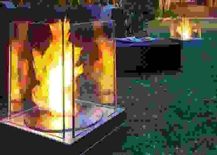 EcoSmart Fire kominki ekologiczne z Australii: styl , w kategorii  zaprojektowany przez ilumia.pl,Nowoczesny