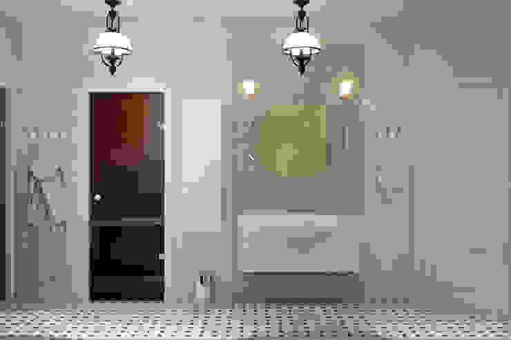 Загородный дом Ванная в классическом стиле от Center of interior design Классический