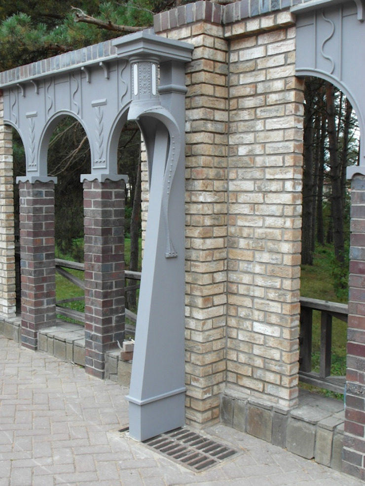 Jardines clásicos de Архитектор Владимир Калашников Clásico