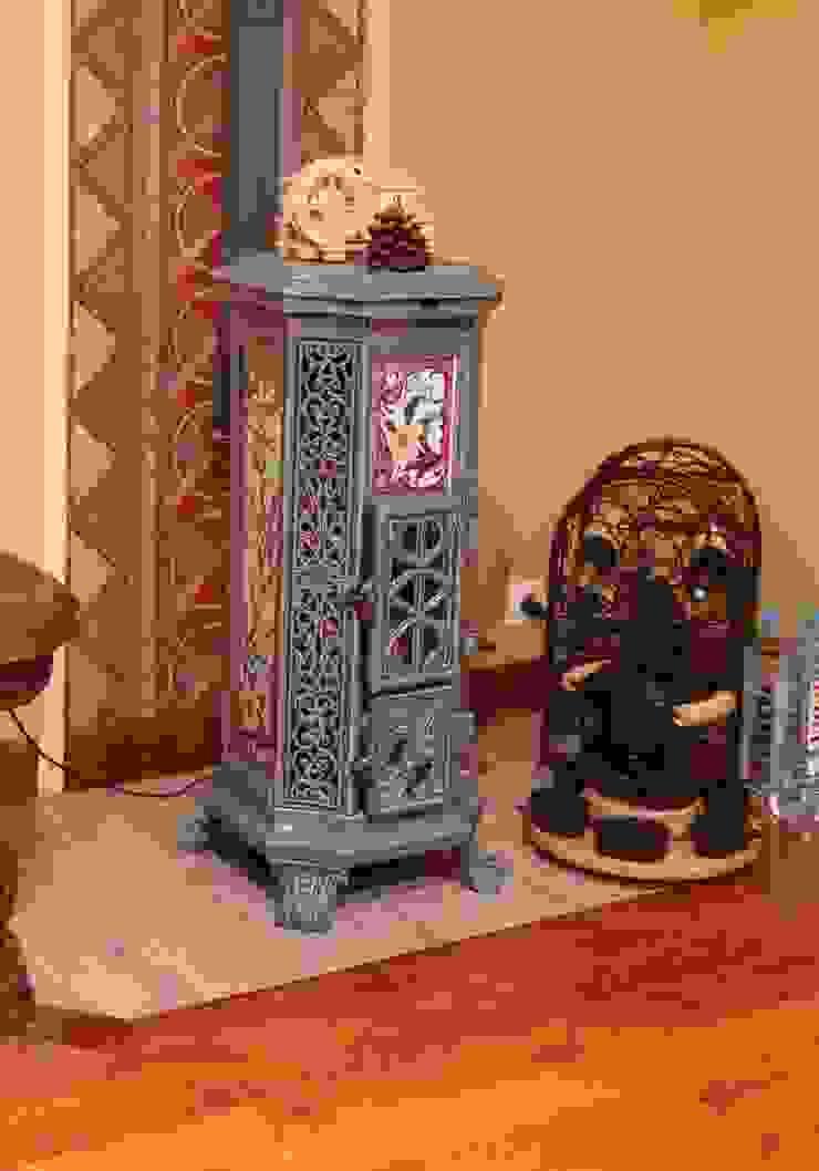 Архитектор Владимир Калашников 客廳壁爐與配件