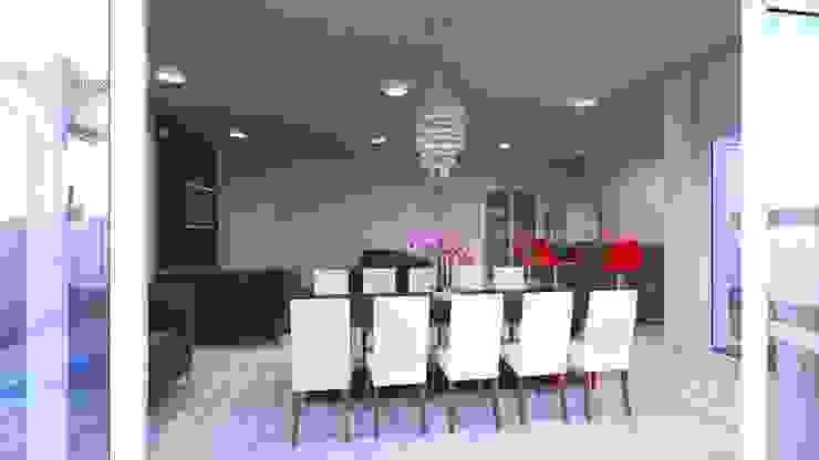 Home e espaço gourmet por Eliana Berardo Arquitetura e Construção Moderno