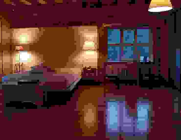 Частный дом 2 Спальня в классическом стиле от Архитектор Владимир Калашников Классический