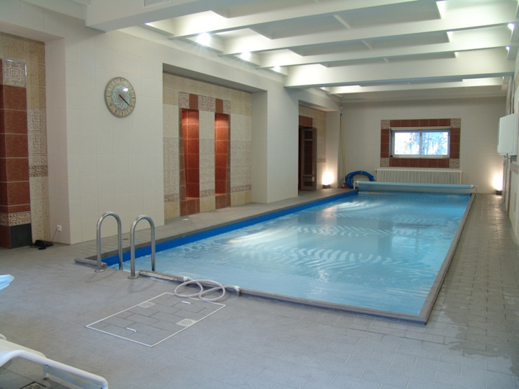 Частный дом 2 Бассейн в классическом стиле от Архитектор Владимир Калашников Классический