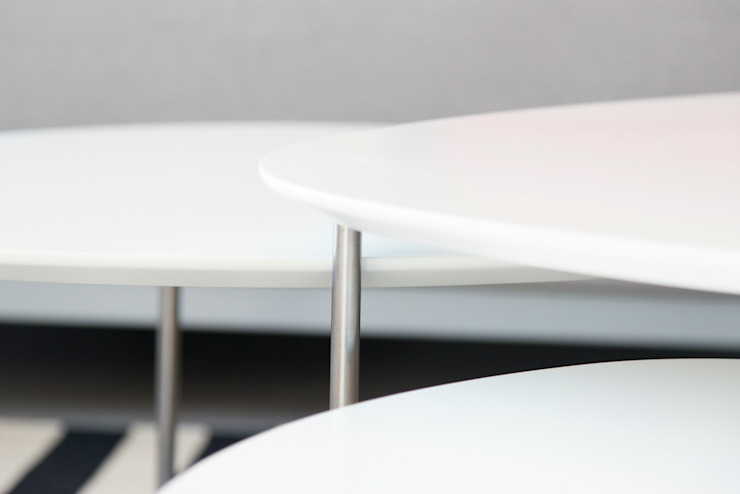 Reforma integral en Enric Granados Salones de estilo minimalista de Global Projects Minimalista