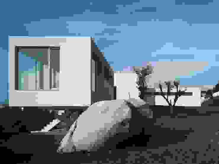 Fachada este Casas de estilo mediterráneo de SOLER-MORATO ARQUITECTES SLP Mediterráneo