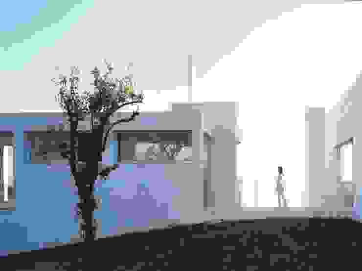 fachada norte Casas de estilo mediterráneo de SOLER-MORATO ARQUITECTES SLP Mediterráneo