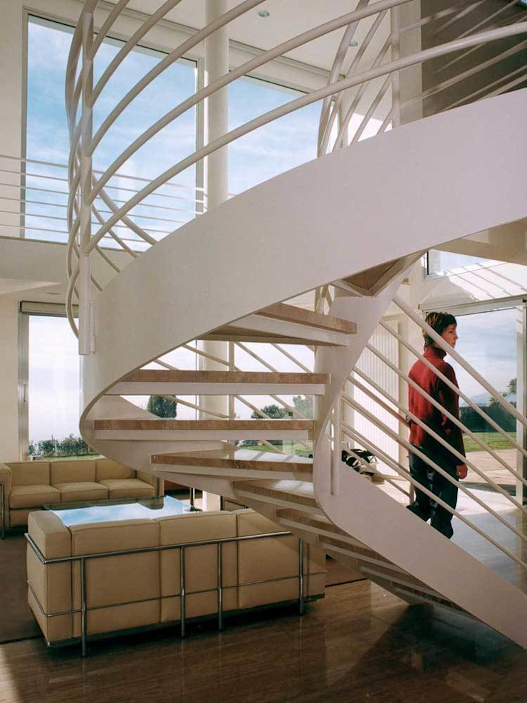 SOLER-MORATO ARQUITECTES SLP Corridor, hallway & stairsStairs