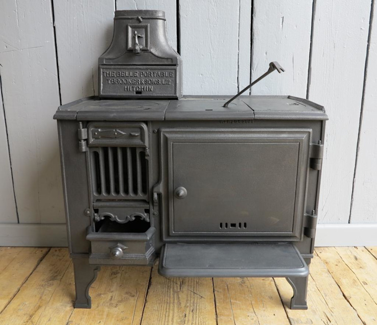 Antique Reclaimed Belle Portable Stove de UK Architectural Antiques Clásico