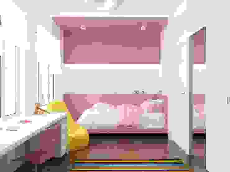 Таунхаус в г. Долгопрудный Детская комнатa в стиле минимализм от Антон Гришин Частный Дизайнер Интерьера Минимализм