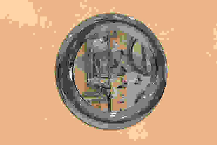 ARİŞ AYNA – Yuvarlak Modern Bombeli Ariş Ayna: modern tarz , Modern