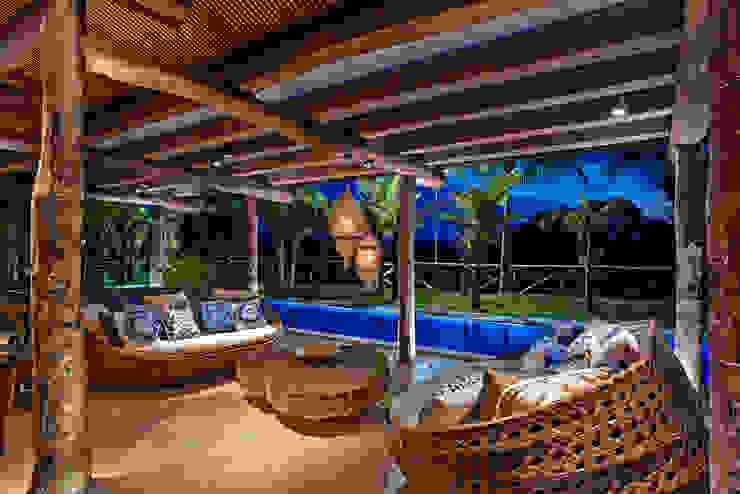 Balcon, Veranda & Terrasse rustiques par Beth Nejm Rustique