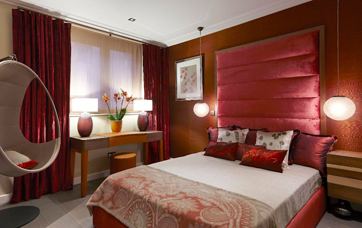 A Passionate Look Homify S Best Red Bedroom Ideas Homify