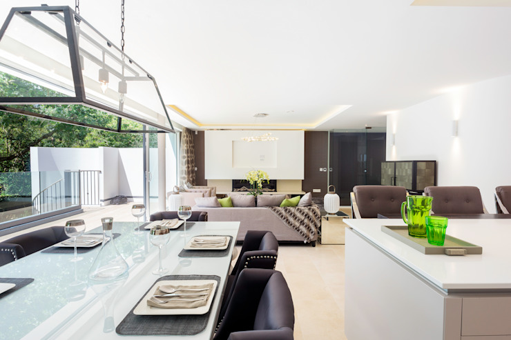 Park Show Home WN Interiors + WN Store Modern dining room