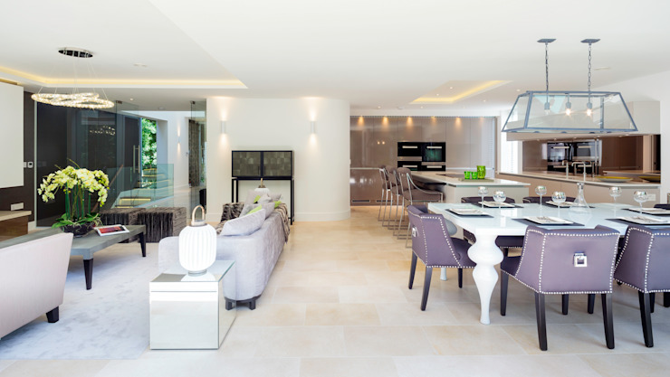 Park Show Home Modern Kitchen by WN Interiors Modern
