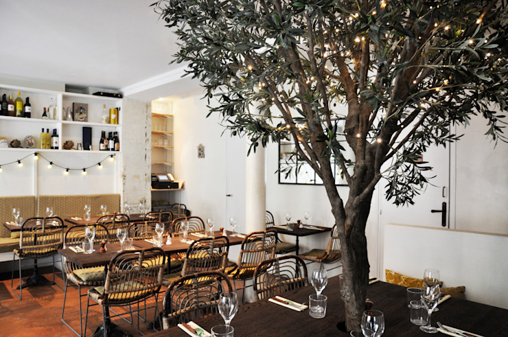 La Cicciolina, restaurant à Paris Gastronomie méditerranéenne par FØLSOM Méditerranéen