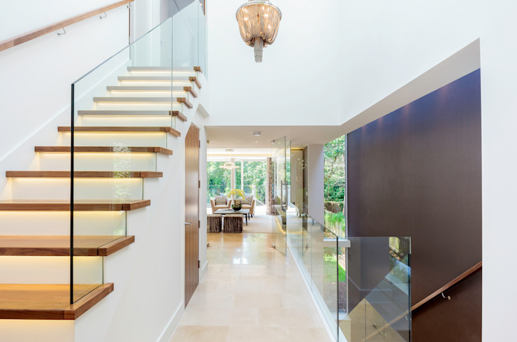 Park Show Home Modern Corridor, Hallway and Staircase by WN Interiors Modern