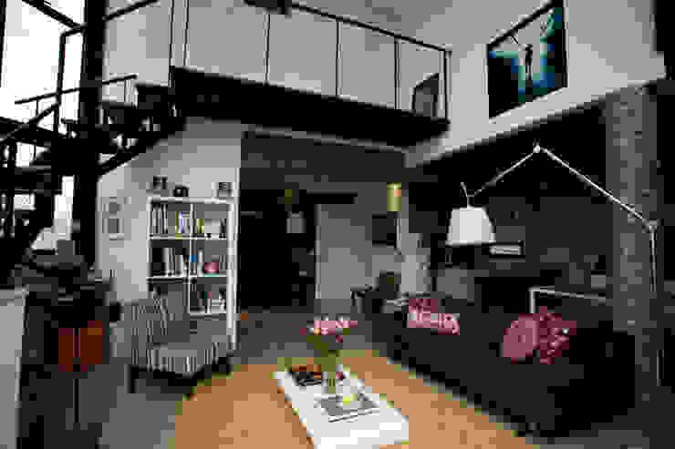 Apartamento Abilio Soares Salas de estar modernas por Maristela Faccioli Arquitetura Moderno