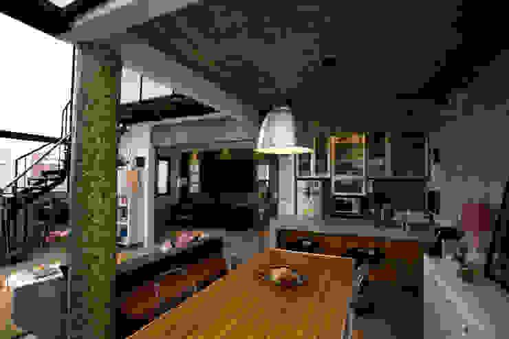 Apartamento Abilio Soares Salas de jantar modernas por Maristela Faccioli Arquitetura Moderno