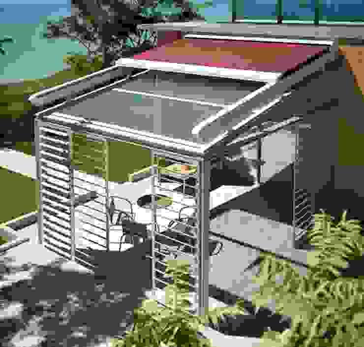 Balconies, verandas & terraces by SISTEMAS GAHM SL,
