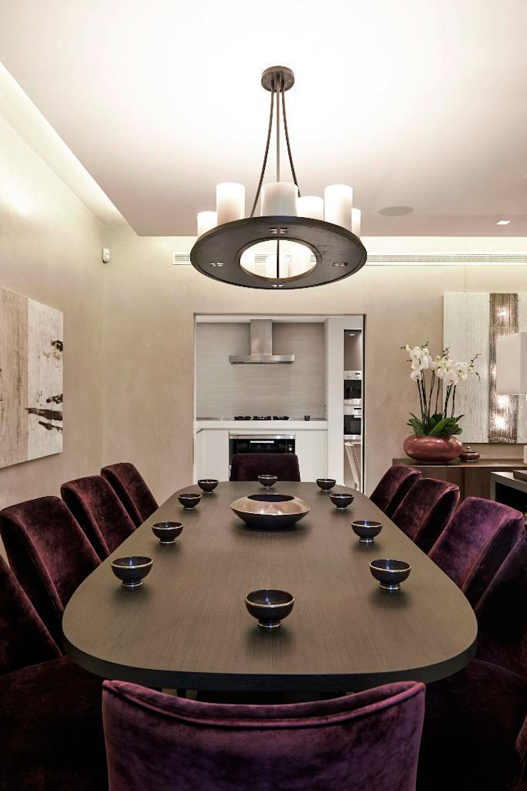 Thornwood Lodge Classic style dining room by Keir Townsend Ltd. Classic