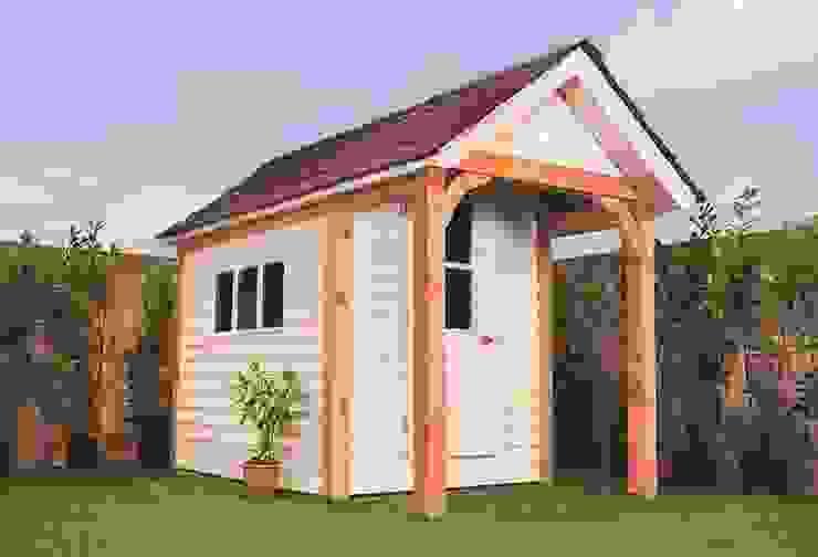 Timeless Timber Garajes de estilo moderno de Timeless Timber Moderno