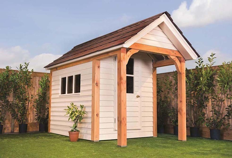 Timeless Timber Modern garage/shed by Timeless Timber Modern