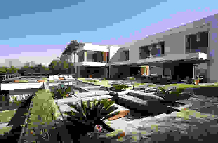 Residência Quinta da Baronesa Jardins modernos por Débora Aguiar Moderno