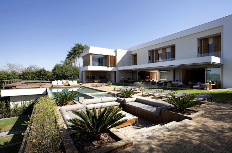 Jardin moderne par Débora Aguiar Moderne