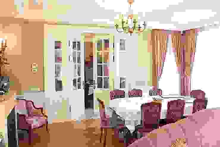 Интерьер столовой в дизайне дома Столовая комната в классическом стиле от Дизайн студия Ольги Кондратовой Классический