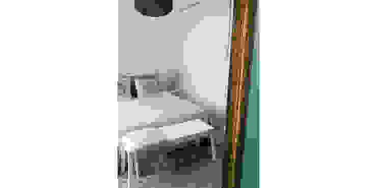 038   Apartamento, Ericeira, Mafra Quartos ecléticos por T2 Arquitectura & Interiores Eclético
