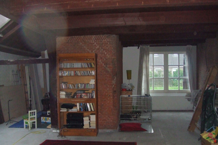 woonkamer bestaand: modern  door Studio Blanca, Modern