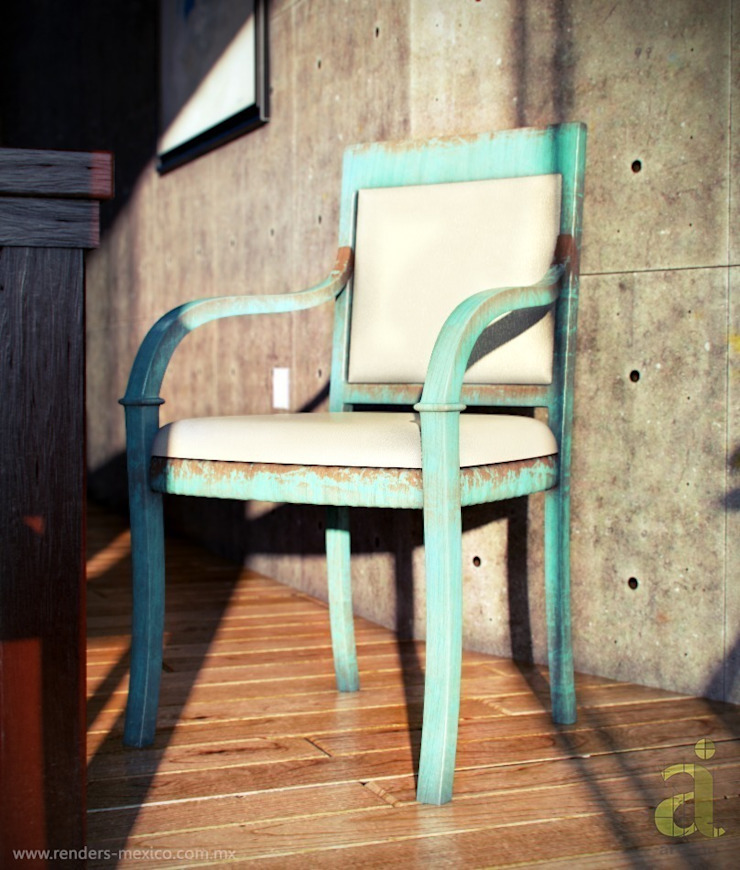 Patio House - Chair arQing Ruang Makan Gaya Kolonial