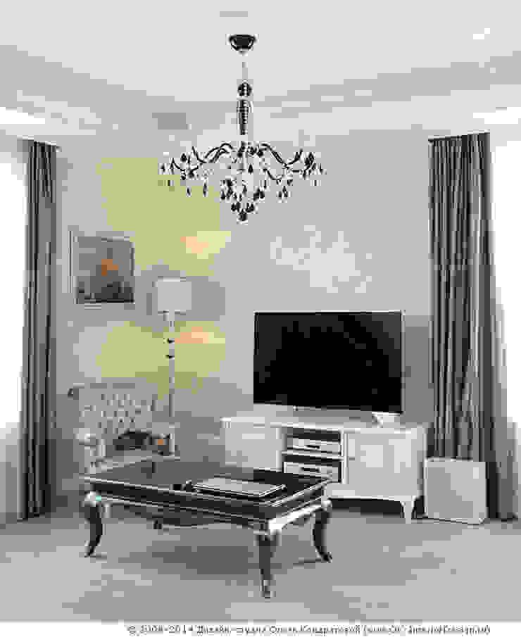 Интерьер гостиной в квартире на Мытной Гостиная в классическом стиле от Дизайн студия Ольги Кондратовой Классический