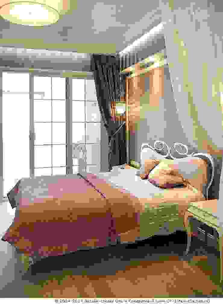 Интерьер спальни в квартире на Мытной Дизайн студия Ольги Кондратовой Столовая комната в классическом стиле