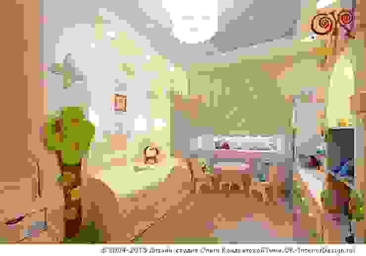 Интерьер детской в квартире на Мытной Детская комнатa в классическом стиле от Дизайн студия Ольги Кондратовой Классический