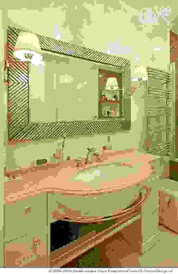 Интерьер ванной комнаты в квартире на Мытной Дизайн студия Ольги Кондратовой Ванная в классическом стиле