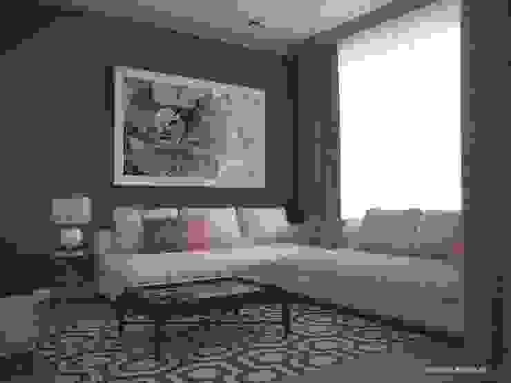 3х комнатная квартира пр.Просвещения Гостиная в классическом стиле от marusia-design Классический