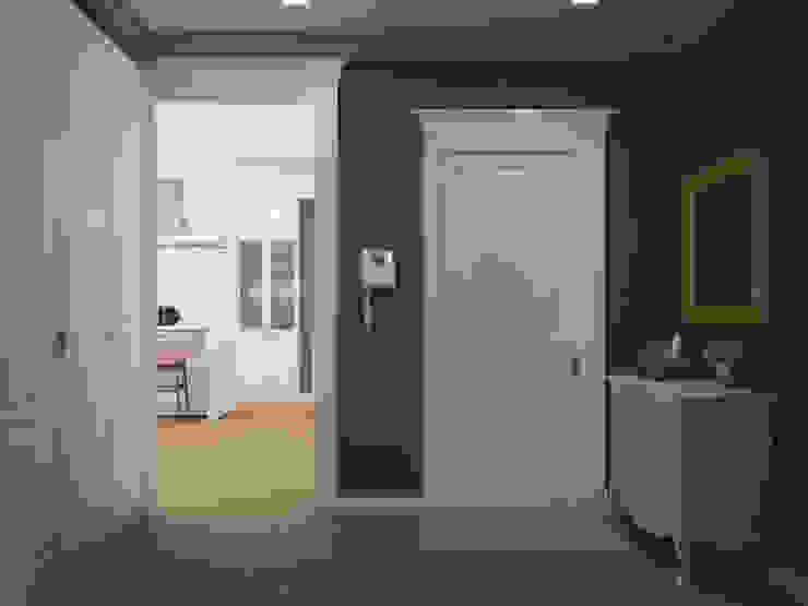 3х комнатная квартира пр.Просвещения Коридор, прихожая и лестница в классическом стиле от marusia-design Классический