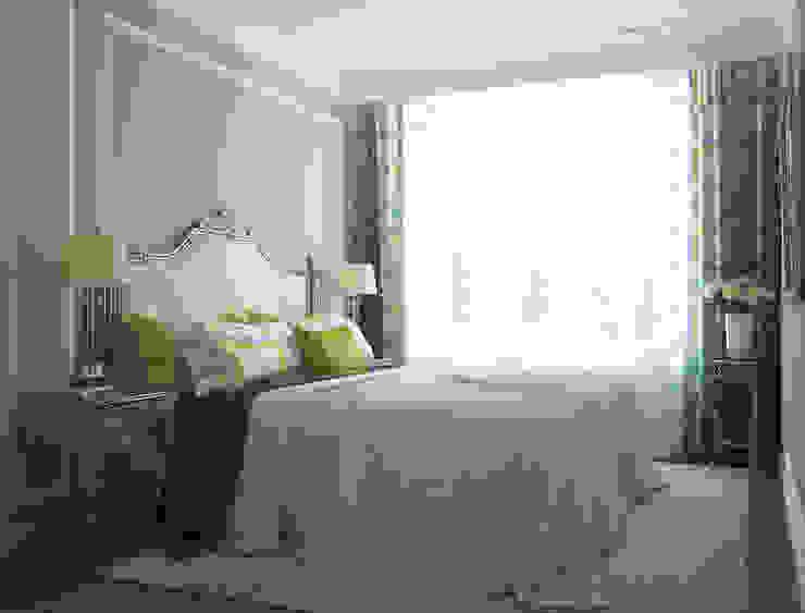 3х комнатная квартира пр.Просвещения Спальня в классическом стиле от marusia-design Классический
