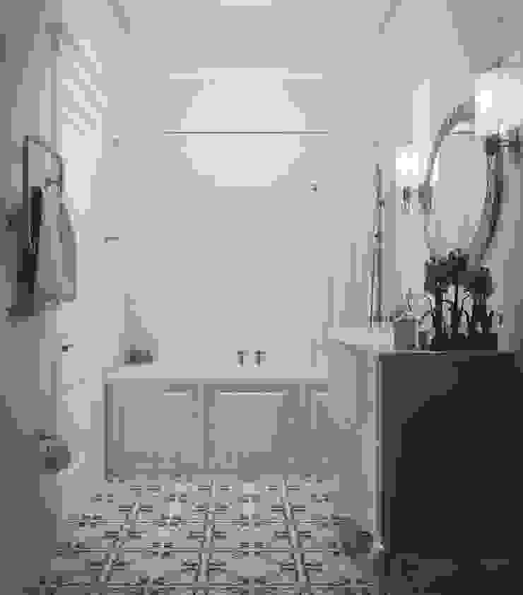 3х комнатная квартира пр.Просвещения Ванная в классическом стиле от marusia-design Классический