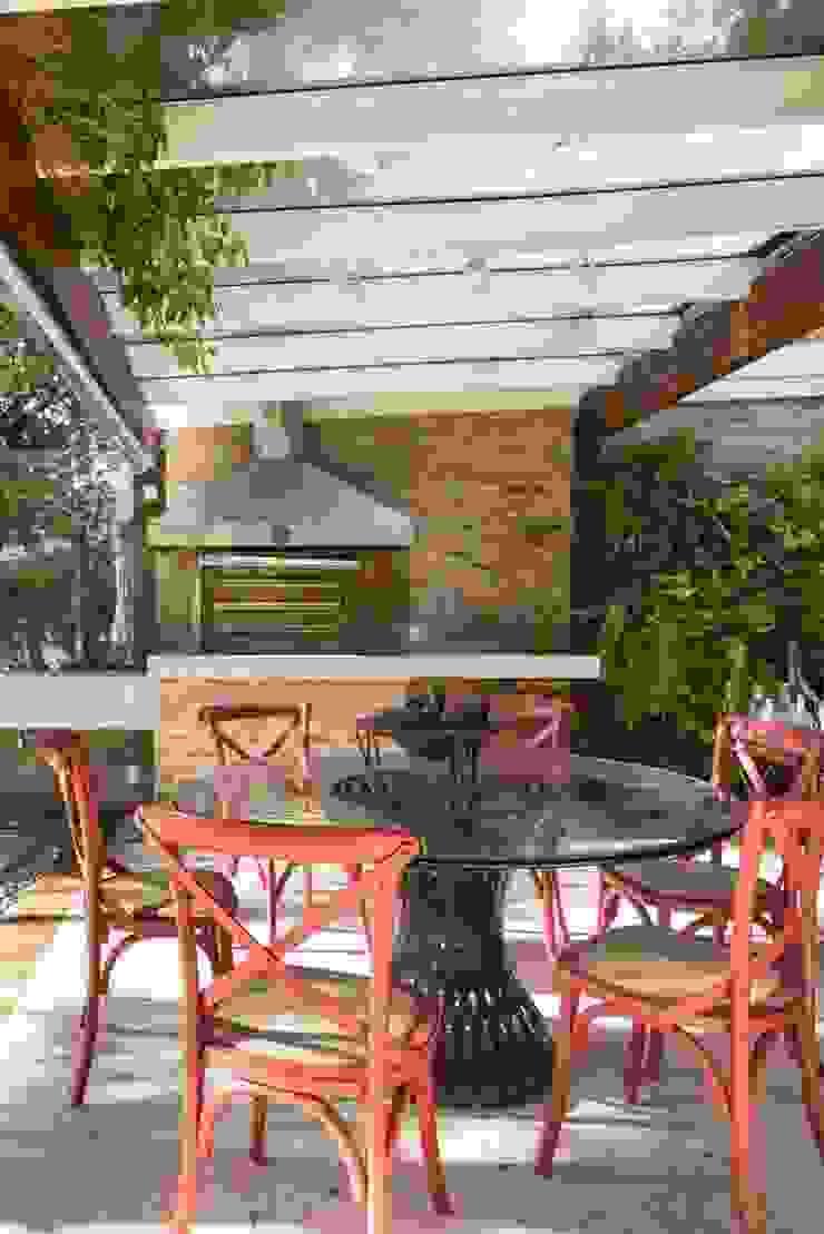 CRR | Churrasqueira Varandas, alpendres e terraços modernos por Kali Arquitetura Moderno