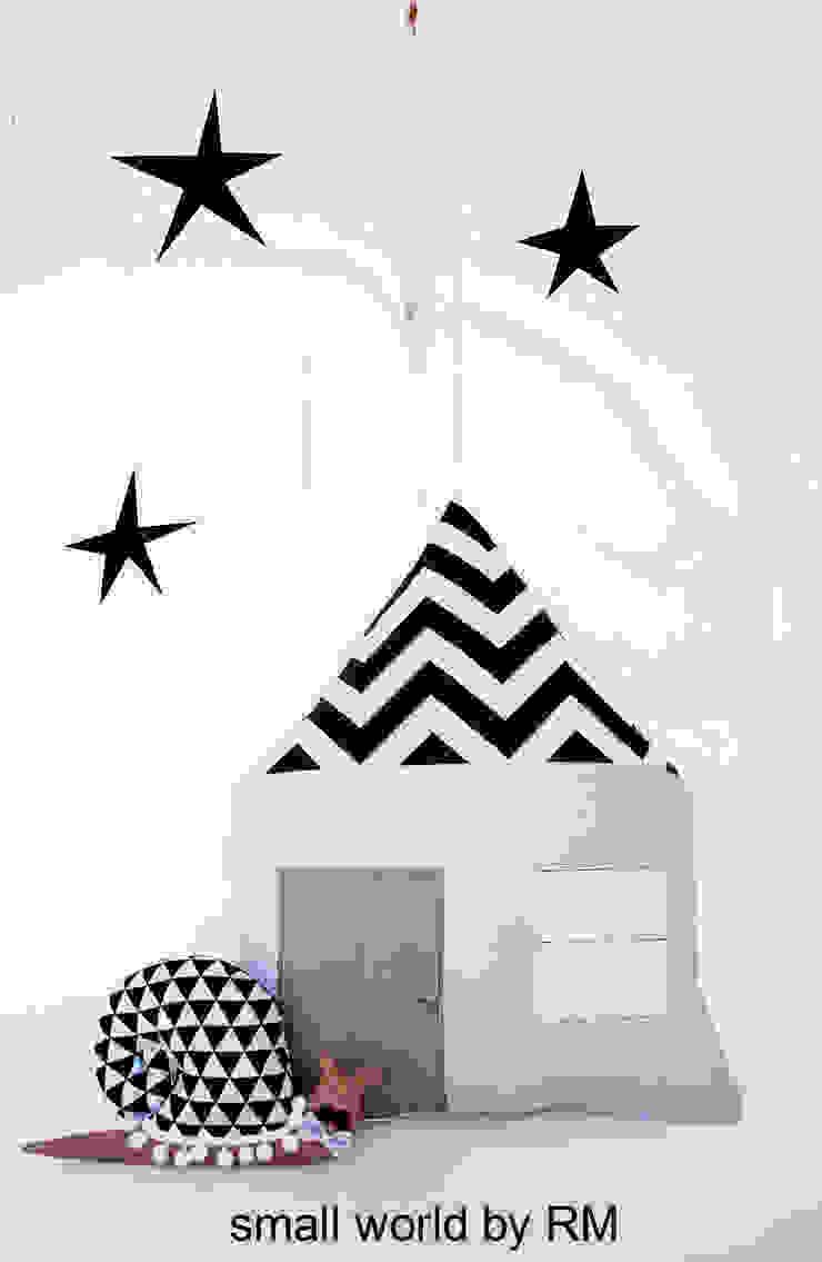 Cojín casa y caracol de Mundo Raquel Escandinavo