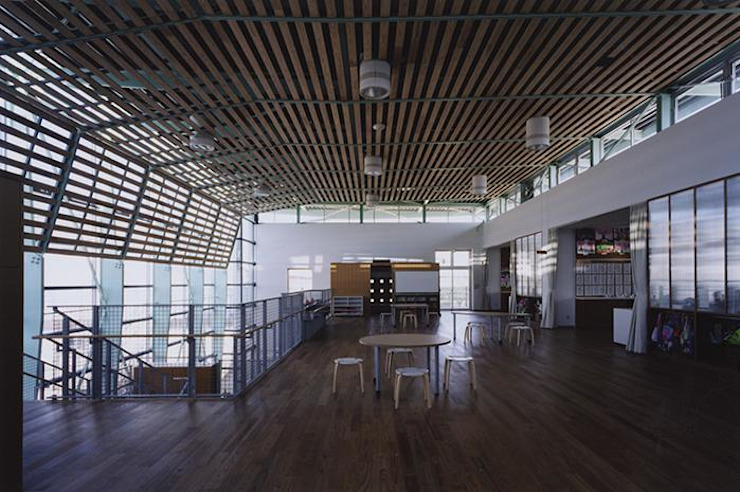 多目的室 モダンデザインの 多目的室 の 株式会社ヨシダデザインワークショップ モダン