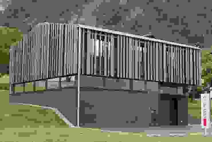 Spiegel Fassadenbau Kantor & Toko Gaya Eklektik