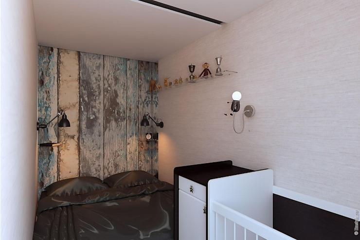 Спальня Кухня в стиле лофт от Дизайн-бюро «Линия стиля» Лофт