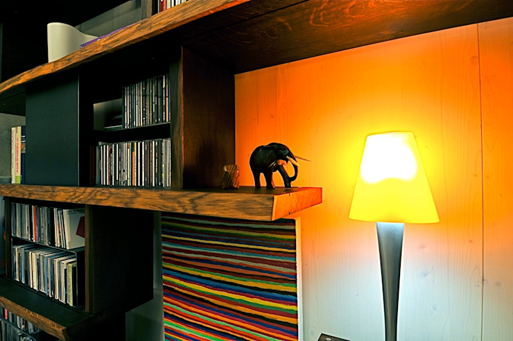 Inneneinrichtung Architekturbüro 011 WohnzimmerRegale
