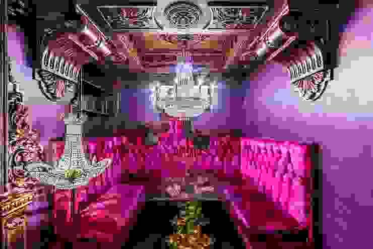 Кафе <q>Primavera</q> Бары и клубы в эклектичном стиле от Belimov-Gushchin Andrey Эклектичный