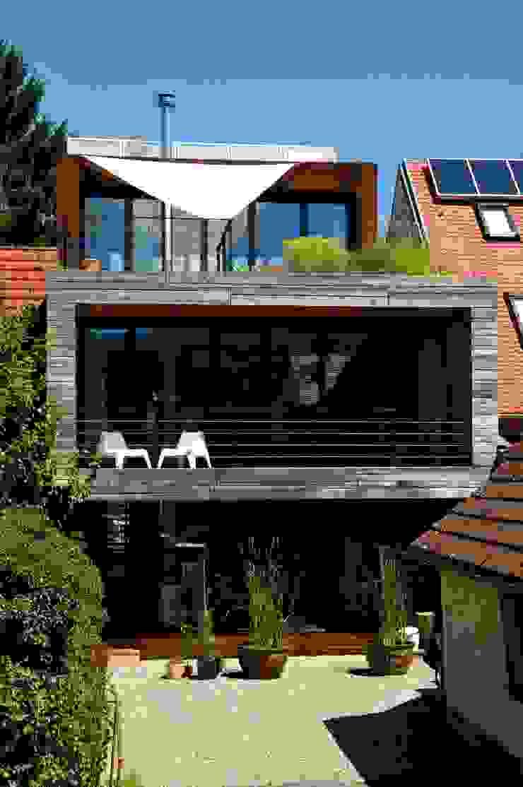 Südansicht Architekturbüro 011 Minimalistische Häuser