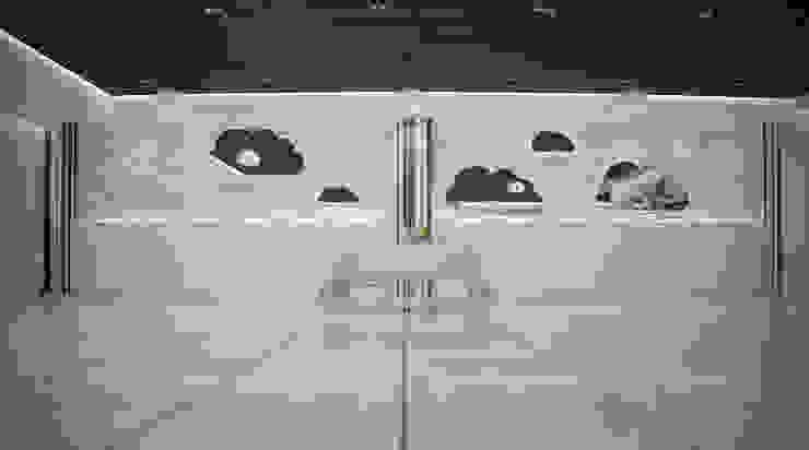 Банкет-холл <q>Облака</q> Бары и клубы в стиле минимализм от Freak Fabrique Минимализм