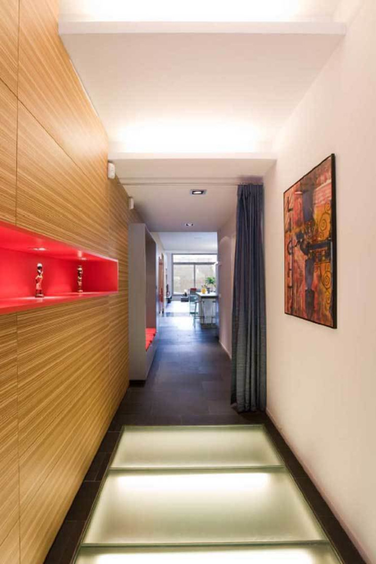 Vestíbulo SOLER-MORATO ARQUITECTES SLP Pasillos, vestíbulos y escaleras de estilo moderno